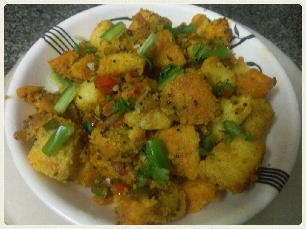 Masala Fried Idli Recipe