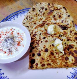 Soya Parathas Recipe