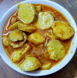 Dahi Arbi Curry Recipe