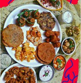 Falhari Thali Recipe