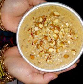 Sabudana Dates Kheer Recipe