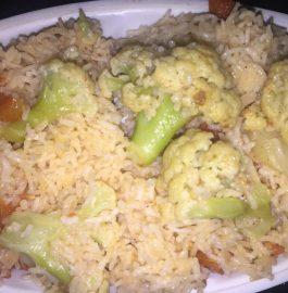 Cauliflower Pulao Recipe