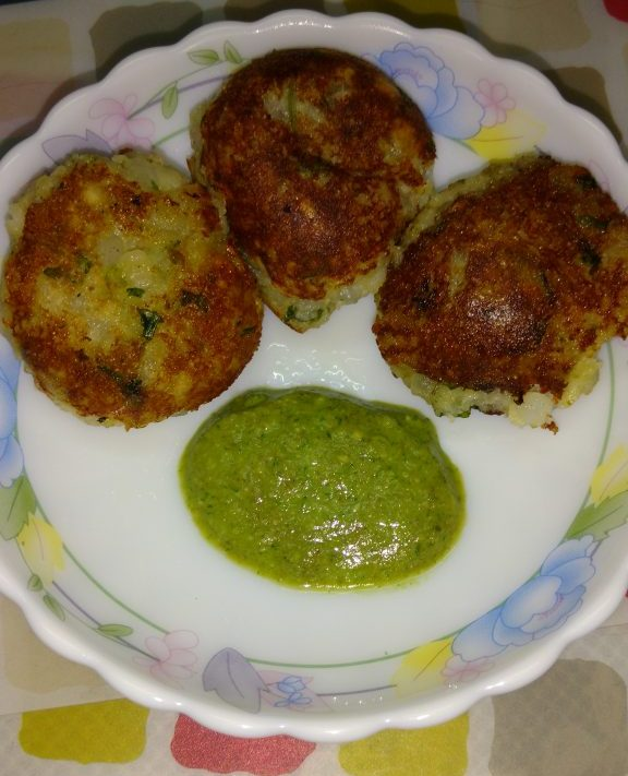 Sabudana Vada In Appe Patra Recipe