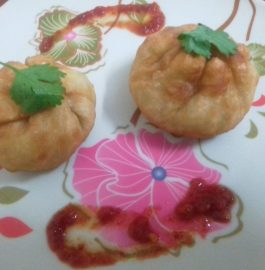Fried Momos Recipe