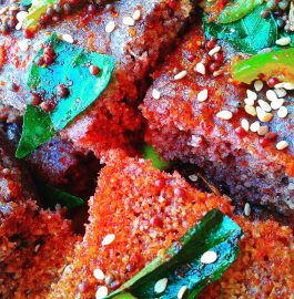 Ragi Oats Dhokle Recipe