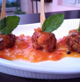 Maggi Balls With Hot And Sweet Sauce Recipe