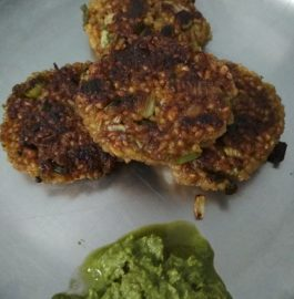 Broken Wheat And Paneer Patties Recipe