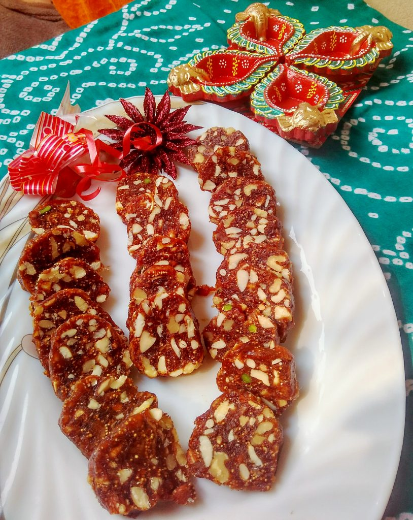 Date and Figs Roll Recipe