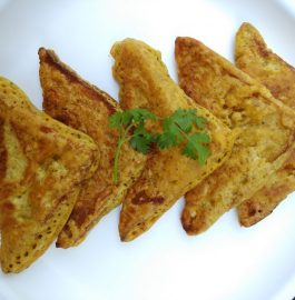 Bread Pakoras (Without Stuffing) Recipe