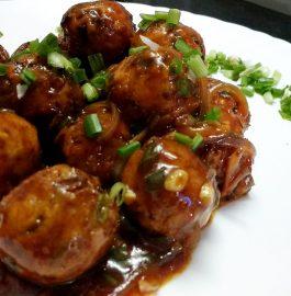 Beans Manchurian Recipe