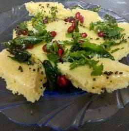 Khaman | Besan Dhokla | Gujarati Recipe in 10 minutes