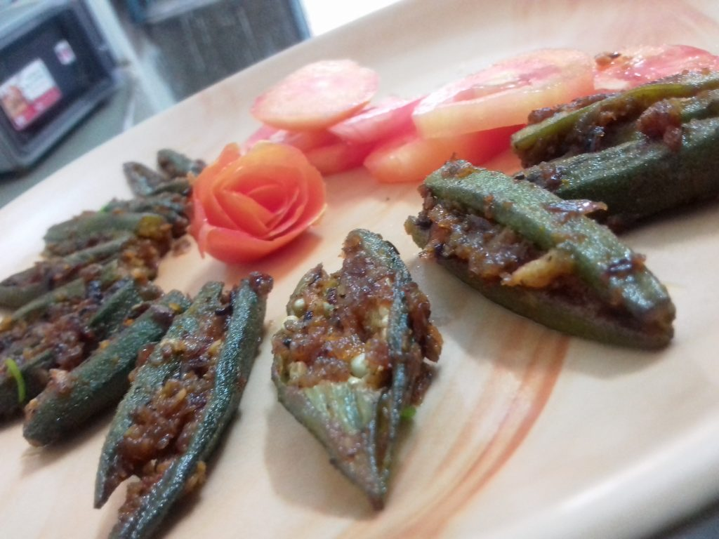 Stuffed Bhindi Recipe