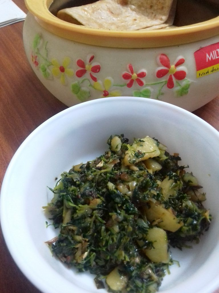 Methi Aloo Recipe