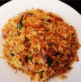 Onion Fried Rice Recipe