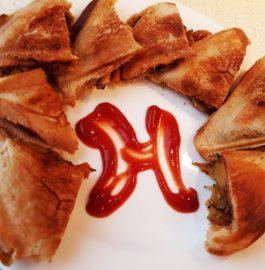Crispy Samosa Sandwich Recipe