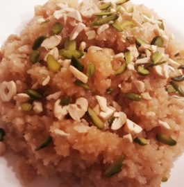 Laapsi - Broken Wheat Halwa Recipe