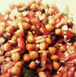 Boiled Chana Chaat Recipe