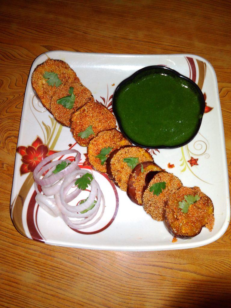 Brinjal Rava Fry Recipe