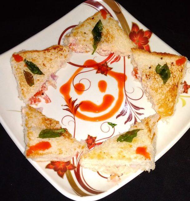 Raita Sandwich Recipe