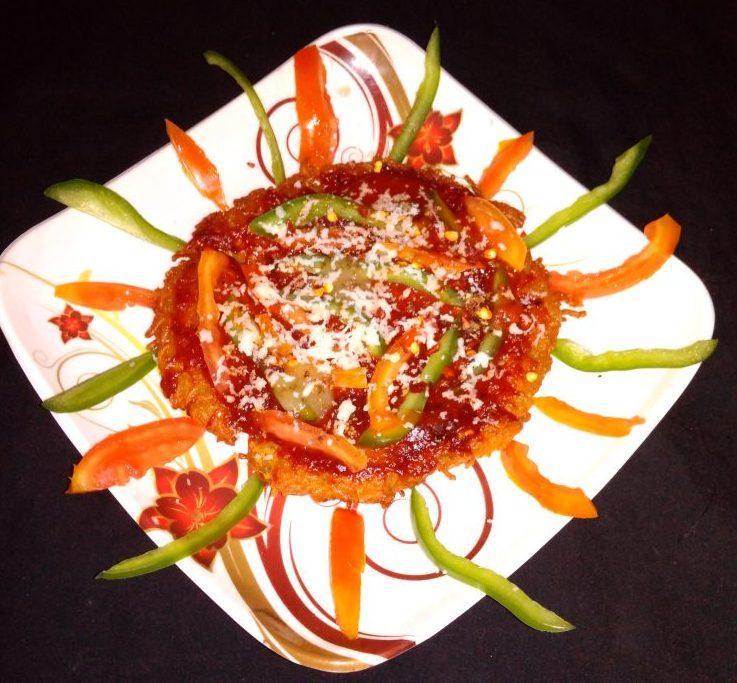 Maggi Masala Noodles Pizza Recipe