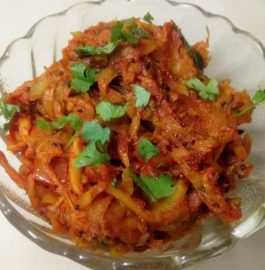 Grated Pumpkin Sabzi Recipe