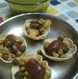 Puri In Appe Patra (For Panipuri) Recipe