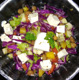 Rainbow Salad Recipe