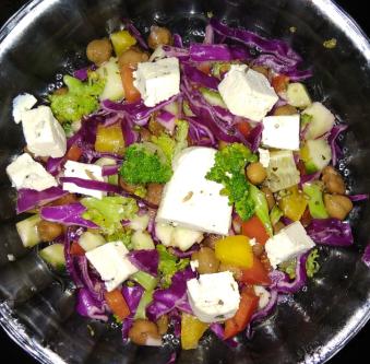 Rainbow Salad Recipe