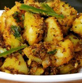 Spicy Jeera Aloo -5 minute Recipe