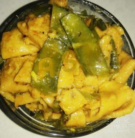 Sem Falee/Vaalor Papdi Dhokli Recipe