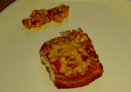 Paneer Bhurji Toast Recipe