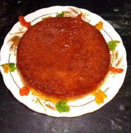 Bread Caramelized Pudding Recipe