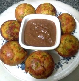 Multigrain Sooji Besan Veggies Appam Recipe