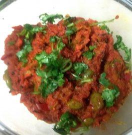 Shalgam Mooli ka Bharta (without onion) Recipe