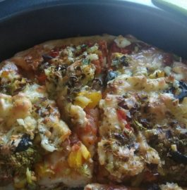 Whole Wheat Pizza Recipe