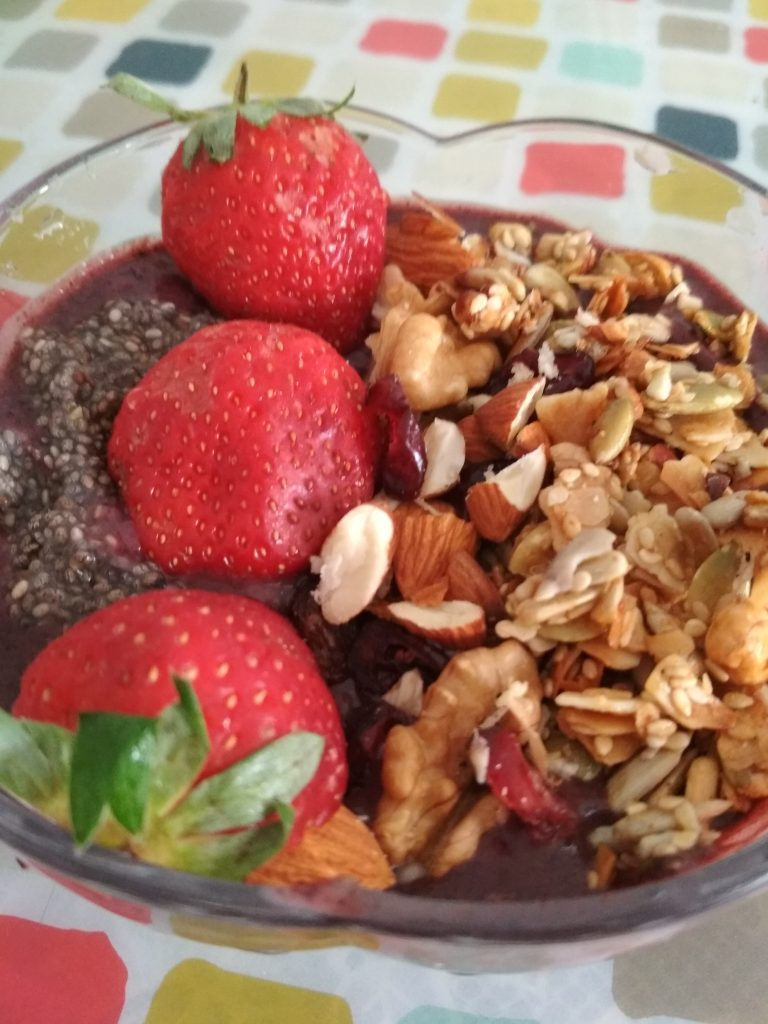 Acai Berry Bowl Recipe
