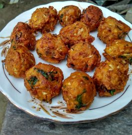 Masoor Daal Cabbage Pakora Recipe