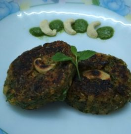 Hara Bhara Kabab with Green Chickpeas Recipe