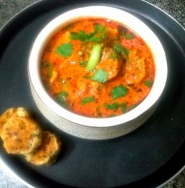 Green Methidana Ke Gatte Ki Sabzi Recipe