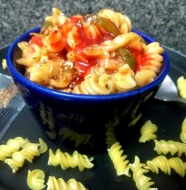 Spicy Fusilli Pasta Recipe