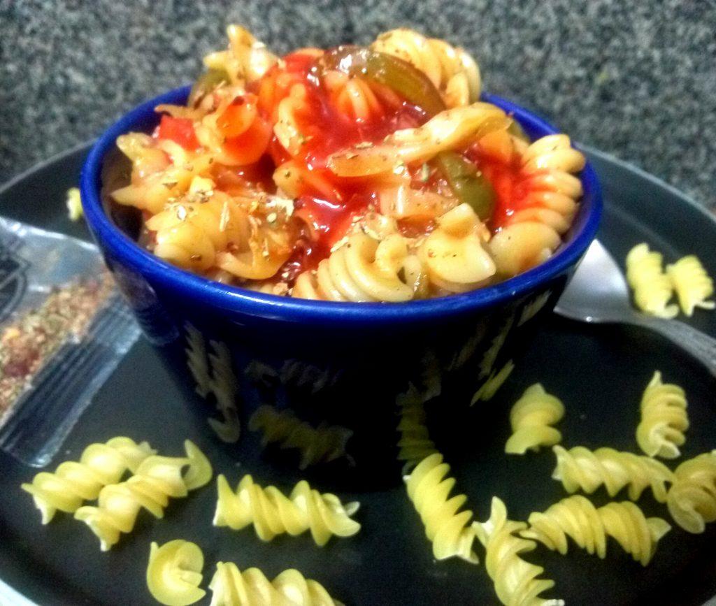 Spicy Fusilli Pasta Recipe