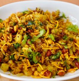 Bachi Roti Ka Poha | Leftover Roti Poha Recipe