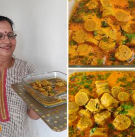 Gatte Ki Sabzi - Rajasthani Special Recipe