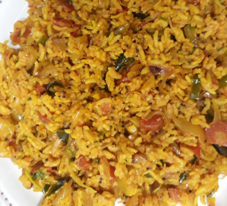 Curry Flavored Fried Rice Recipe