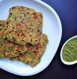 Mix Veg Paratha | Protein and Iron Rich Recipe