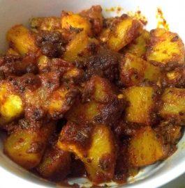 Kohlrabi | Kadam Ki Achaari Sabzi Recipe