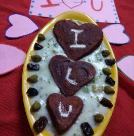 Beetroot Pancake In Choliya Rabdi Recipe