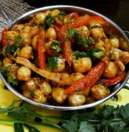 Kadai Chole Recipe