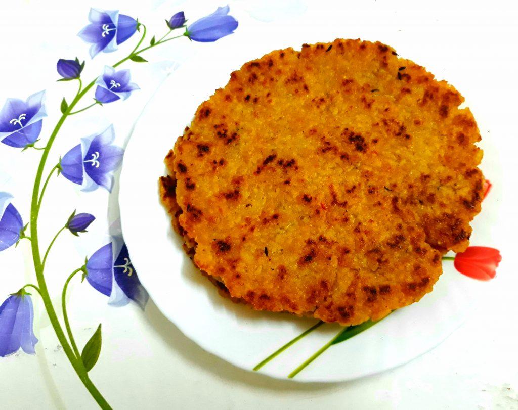 Leftover Rice Paratha Recipe