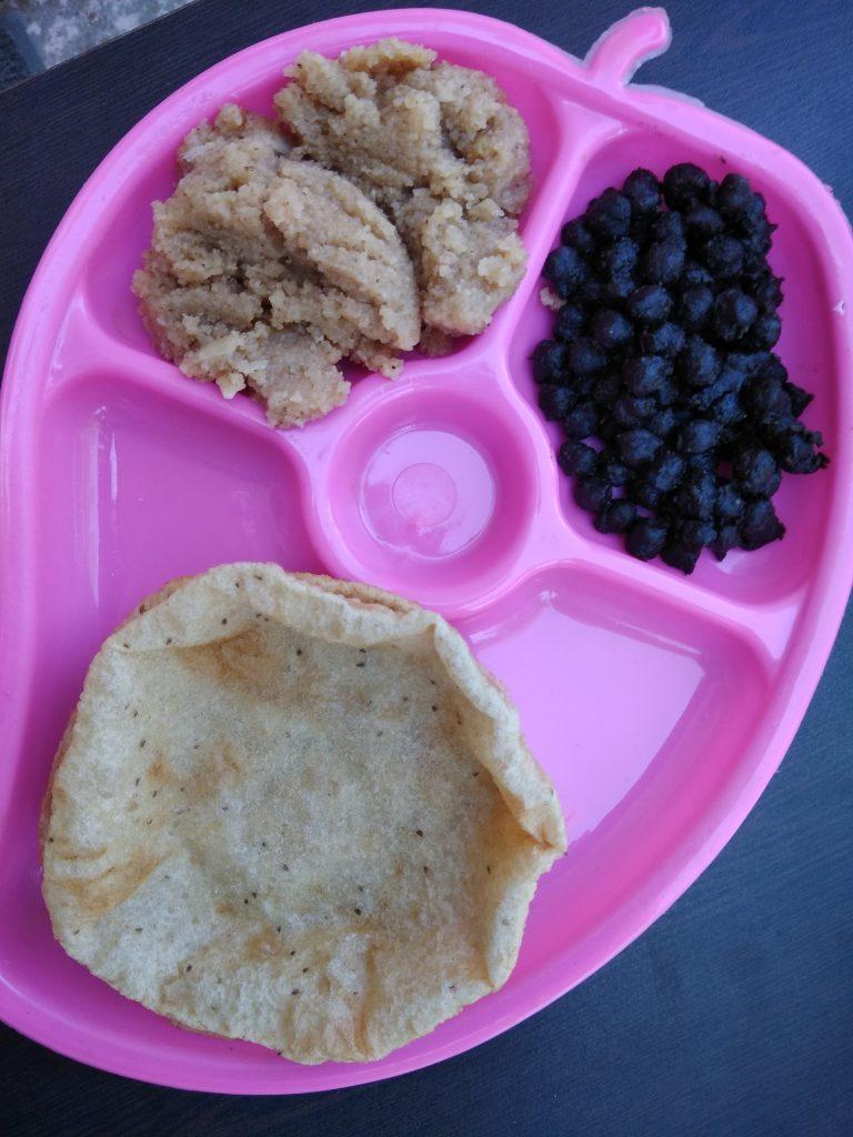 Halwa, Poori And Chhole Recipe